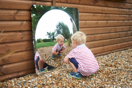 Giant Single Dome Acrylic Mirror Panel (Free Delivery)
